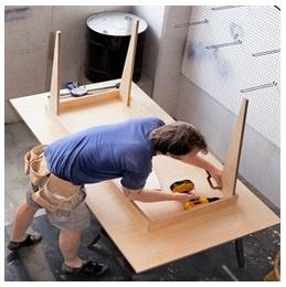 Сборка столов по низким ценам в Мытищах от специалистов