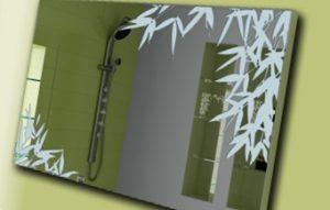 Установка зеркала в ванной комнате